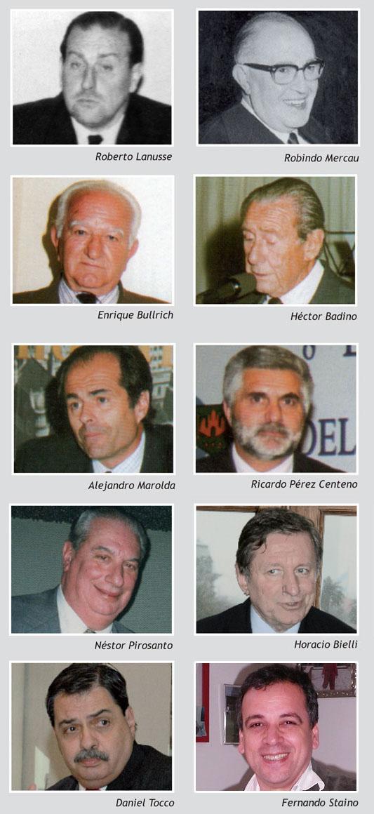 Recuadro Los presidentes